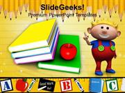 FOOD BOOKS WITH CHILD EDUCATION PPT TEMPLATE