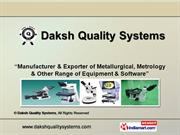 Metallurgical Image Analysis Software By Daksh Quality Systems Indore