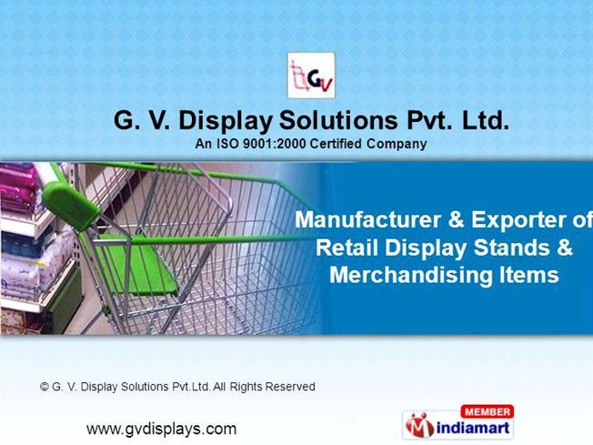 table top display stands by g v display solutions pvt ltd new