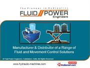 Mobile Advertisment By Fluid Power Engineers, Coimbatore Coimbatore
