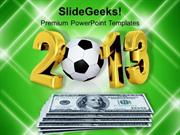 SPORTS BRIBERY SCANDAL 23 FOOTBALL GAME PPT TEMPLATE