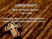 Religious Education: Trinity