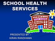 21 SCHOOL HEALTH SERVICES