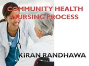 COMMUNITY HEALTH NSG PROCESS