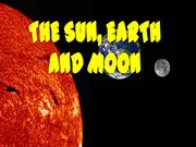 Sun -Moon-and Earth