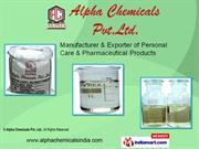 Alpha Chemicals Pvt. Ltd. Maharashtra,India