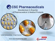 CSC Pharmaceuticals,Maharashtra,India