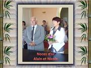 noces d'or de alain & nicole
