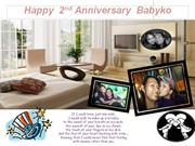Happy Anniversary to my Babyko