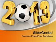 SPORTS CHAMPIONSHIP OF FOOTBALL IN NEW YEAR 23 PPT TEMPLATE