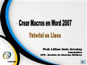 Tutorial-Crear Macros en Word