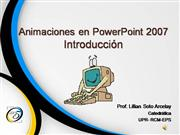 Tutorial- Animaciones en PowerPoint 2007
