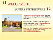 Stephenville Hotels Lone Star Arena