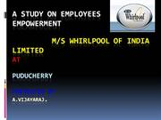 EMPLOYEES EMPOWERMENT