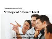 strategic management at different level