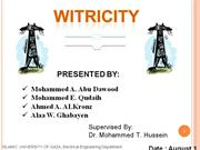 WITRICITY PPT
