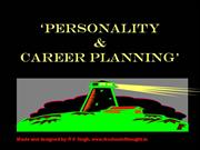 Personality & Career Planning