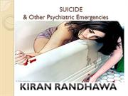 Suicide and Psychiatric Emergencies