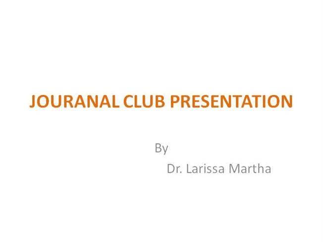 journal club lmcn |authorstream, Powerpoint templates