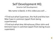 Self Development HQ