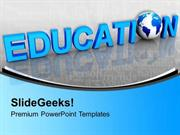 EDUCATION GLOBAL EDUCATION WORD FUTURE PPT TEMPLATE