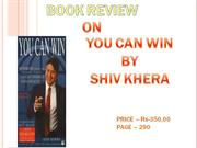 final book review you can win...............
