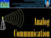 Analog Communication - AMPLITUDE MODULATION