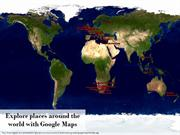 Explore places around the world with Google Maps