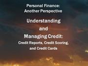 08 Understanding and Managing Credit 5May10