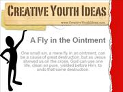 Youth sermon ideas: A Fly in the Ointment