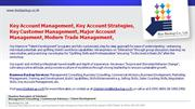 Key Account Management, Key Account Strategies, Key Customer Managem,