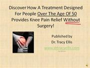 Dr. Tracy Ellis Knee Pain