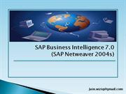 SAP BI Overview