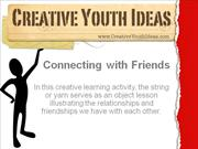 Youth Ministry Lesson: Connecting with Friends