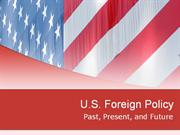 U--US Foreign Policy