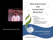 Data Structures and Algorithms Made Easy (C/C++)