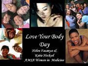 Love Your Body.ppt