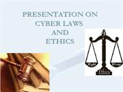 cyber laws n ethics new ppt