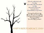 India Independence day - A day to celebrate