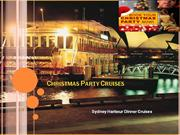 Christmas Party Cruises, Xmas Parties Venue