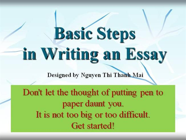 Steps for writing an essay | xRez Studio