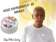 FELIZ CUMPLEAOS PAPAUH!