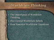 Worldview Thinking