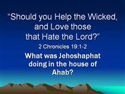 Should You Help the Wicked