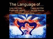 The Language of God and Humans