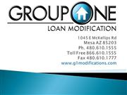 Group One Loan Modification Presentation
