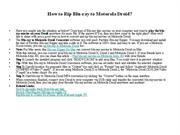 How to Rip Blu-ray to Motorola Droid