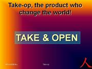 takeop  the product who change the world - authorstream