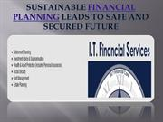 Sustainable financial planning leads to safe and secured future- www.i