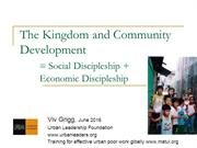 500-7 Community Development & the Kingdom of God 630-1